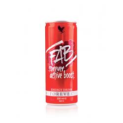 Napój energetyczny FAB Forever Active Boost - 250ml x 12 sztuk
